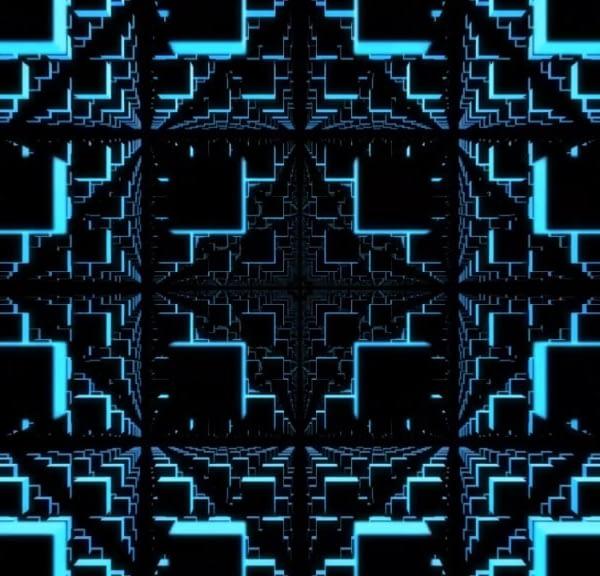3D LED Cubes - Free VJ Loop by Ghosteam
