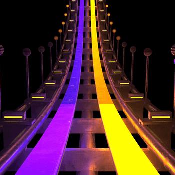 Luna Park Roller Coaster VJ Loop by Ghosteam