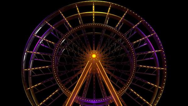 Ferris Wheel Theme Park Luna Park VJ Pack by Ghosteam