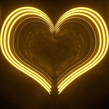 Neon Heart VJ Loop - Neon Rooms 2 by Ghosteam