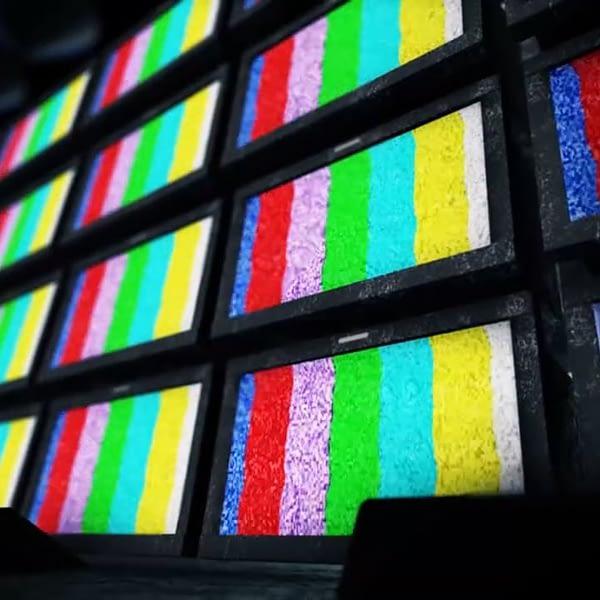 Free VJ Loop - TV Screens by Ghosteam