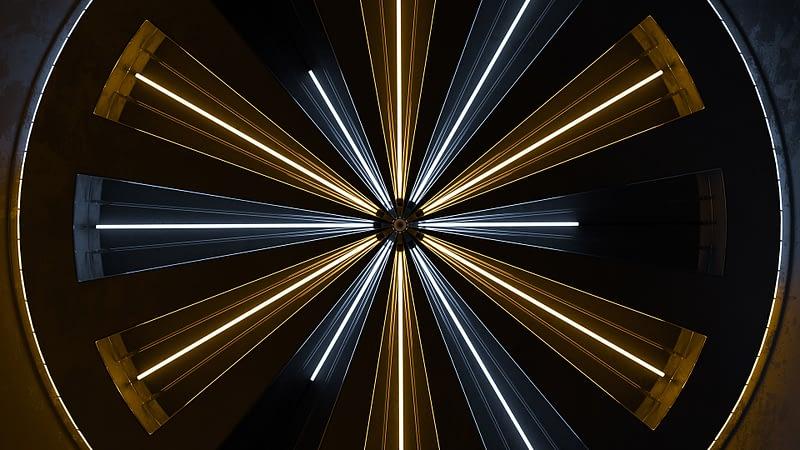 VJ Loop - Neon Rooms 2 by Ghosteam