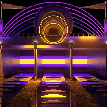 Theme Park Entrance VJ Loop by Ghosteam