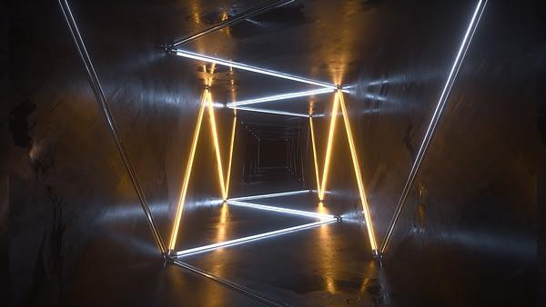 Neon Drive VJ Loop - Neon Rooms 2 by Ghosteam