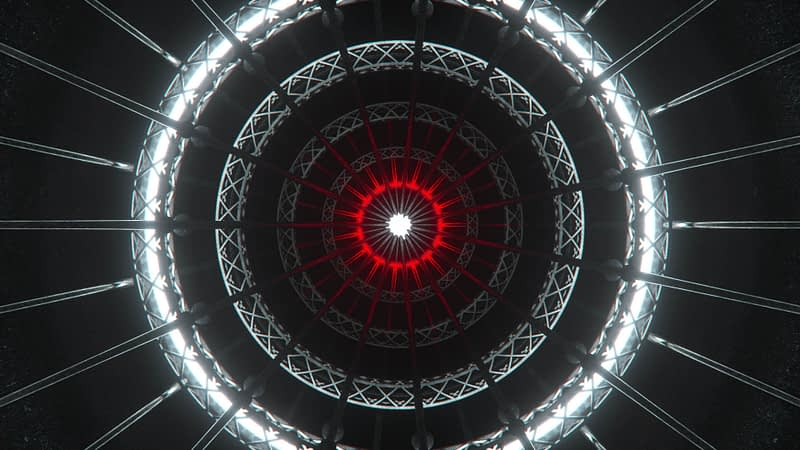 Circles Grid VJ Loop
