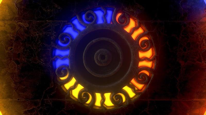 Ancient Symbols 3D Videoart