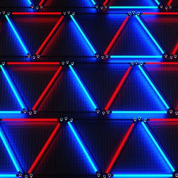 Neon Triangles - Shatter VJ Loops pack by Ghosteam