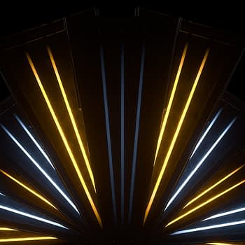 Neon Fan with lights VJ Loop - Neon Rooms 2 by Ghosteam