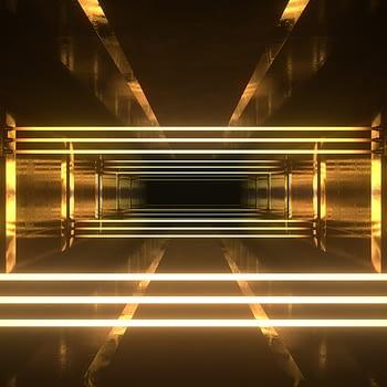 Neon Lasers VJ Loop - Neon Rooms 2 by Ghosteam