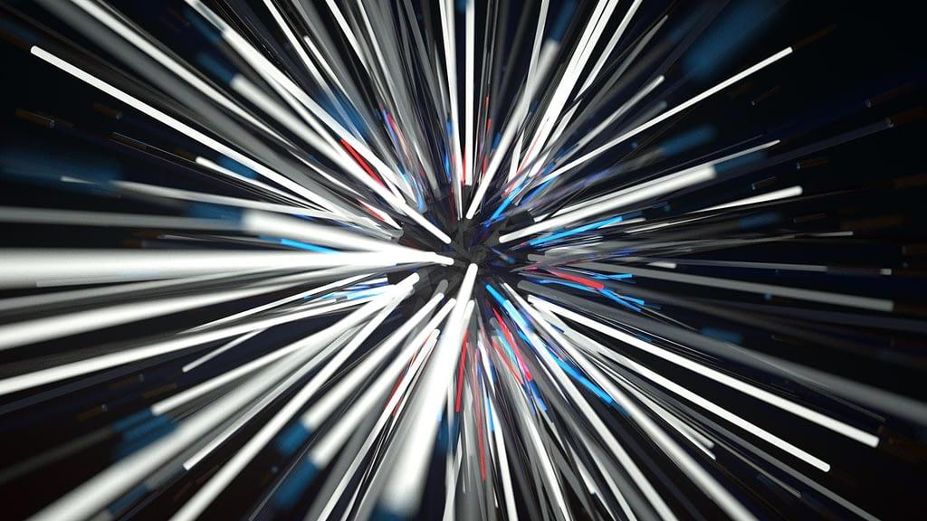 Spinning Neon Lights - Free VJ Loop by Ghosteam