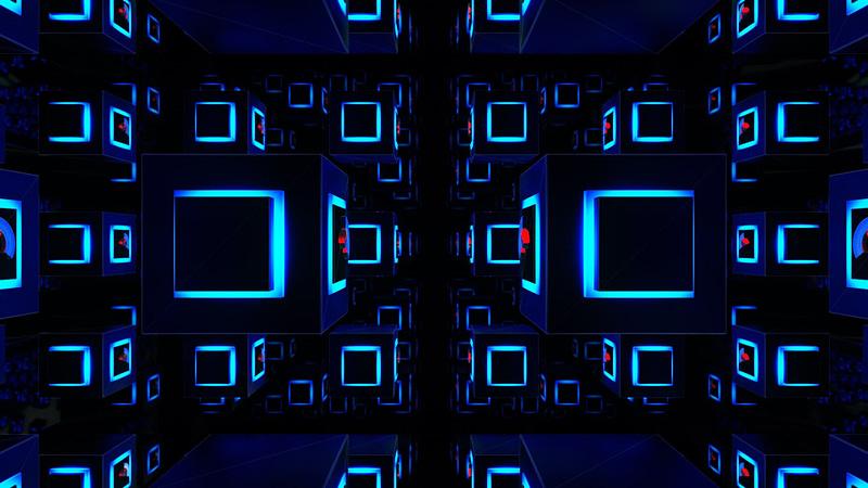 3D Light Cubes - Voyage VJ Pack