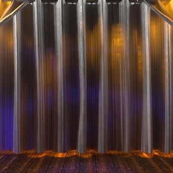 Stage Curtain by Ghosteam