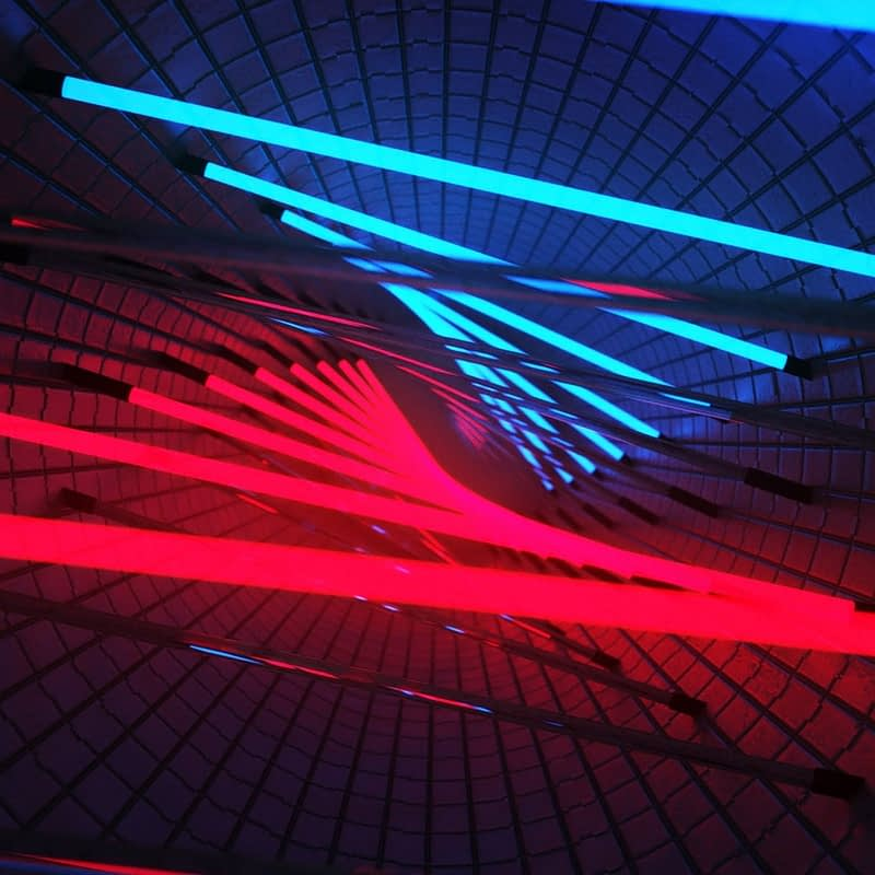 Neon Rooms VJ Pack by Ghosteam - Tunnel