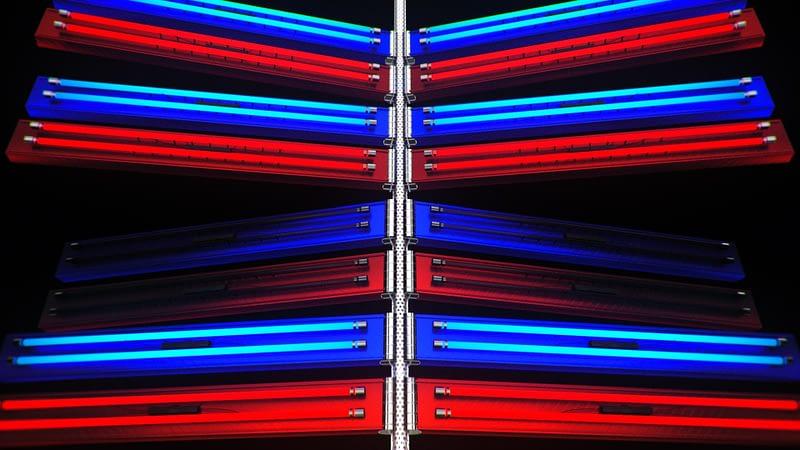 Dual Neon Machine - Shatter VJ Loops Pack