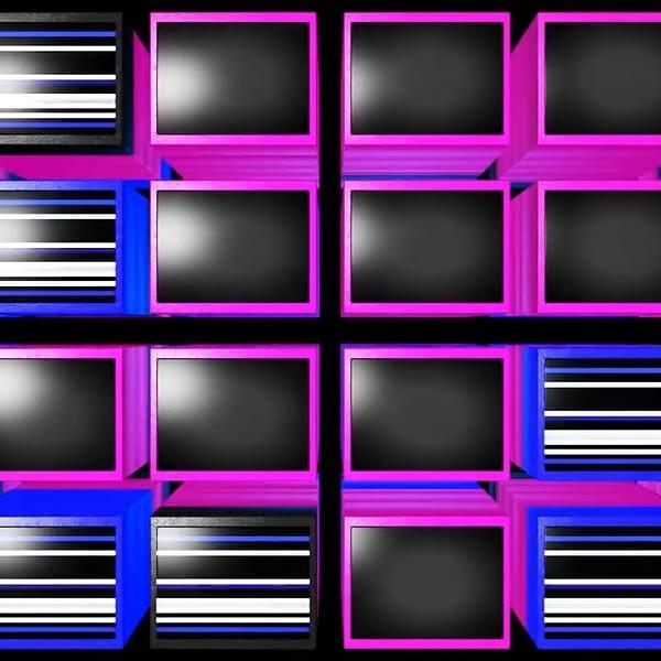3D Video Cubes - Free VJ Loop
