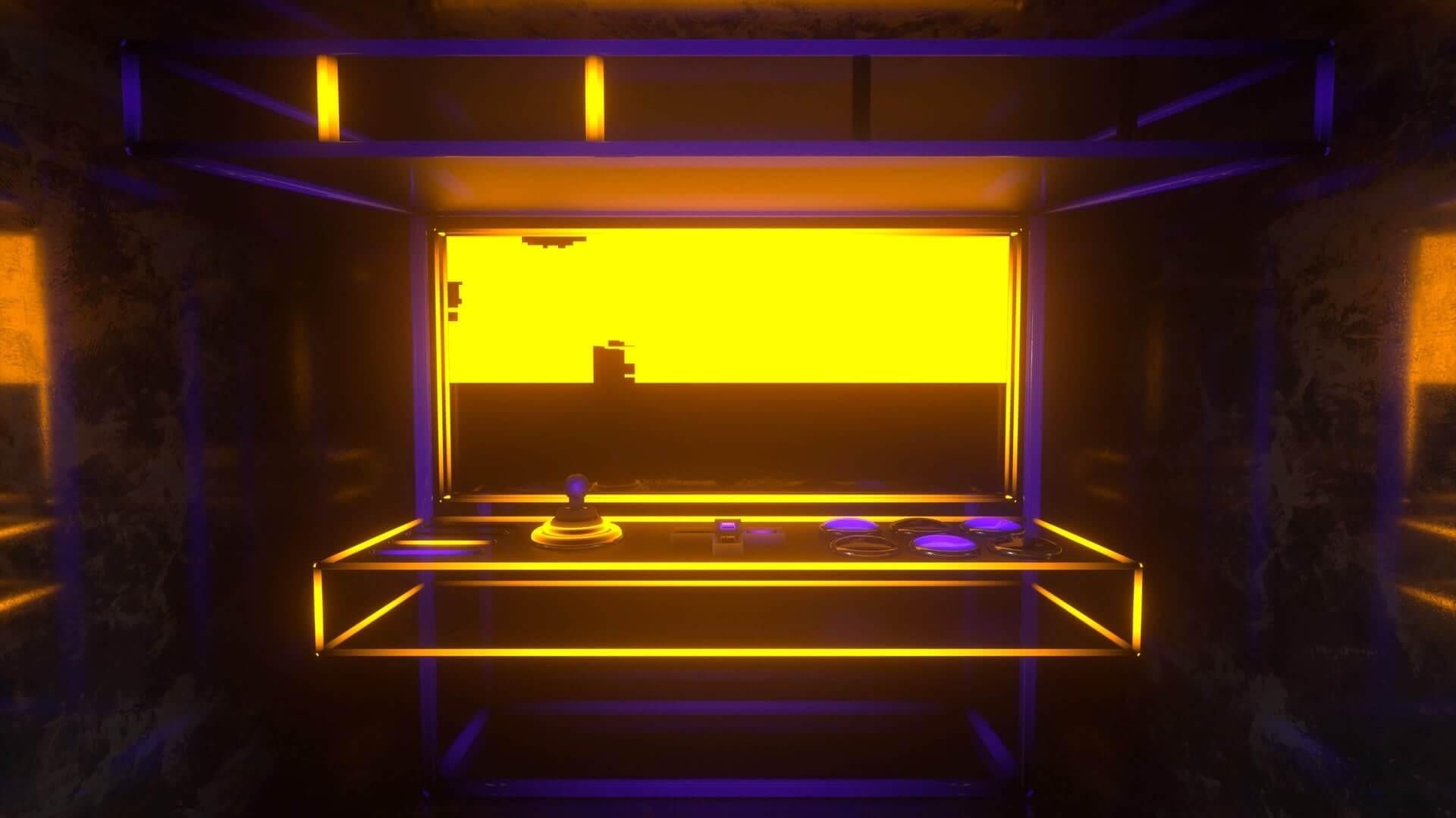 Arcade Game VJ Loop by Ghosteam