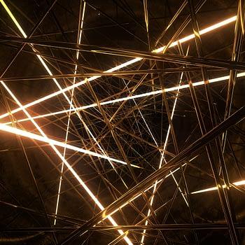 Neon Maze VJ Loop - Neon Rooms 2 by Ghosteam